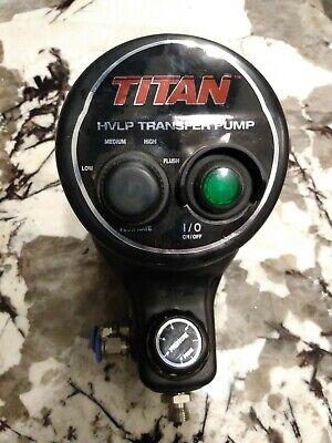 Titan Hvlptransfer Pump 0524125 Capspra 35 Psi 0524038 Airless
