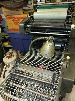 Ab Dick Printing Press Machine And T Head