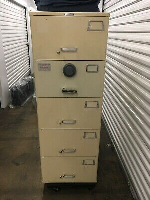 Mosler Heavy Duty Gsa 5-drawer Safe Digital Combo 9102 Local Pick Up Only