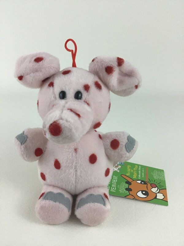 Rudolph Island of Misfit Toys Spotted Elephant CVS Stuffins Plush Vintage w Tags