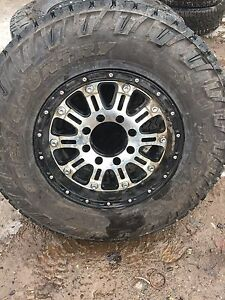 XD rims with tires