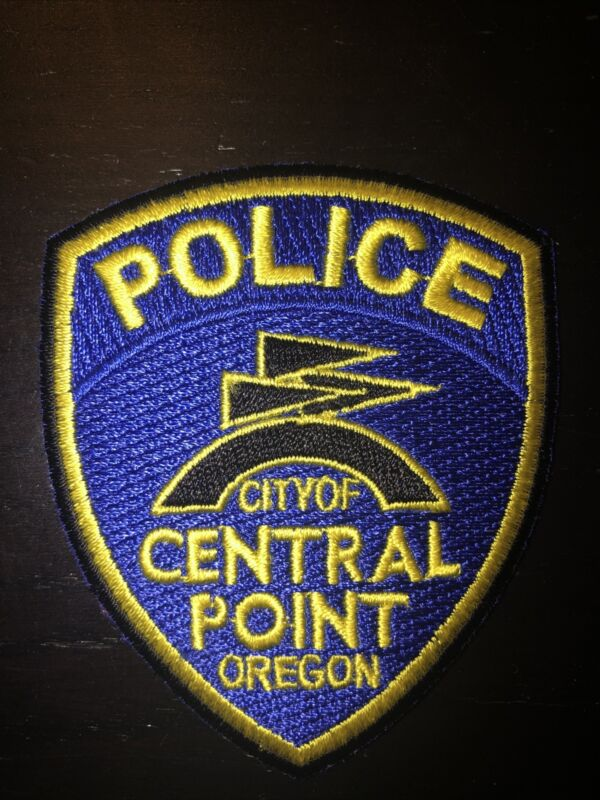 City Of Central Point Oregon Police Department Patch (Small)