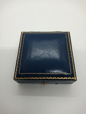 vintage antique jewellery Faux Leather Box For Brooch Or Pendants Bournemouth