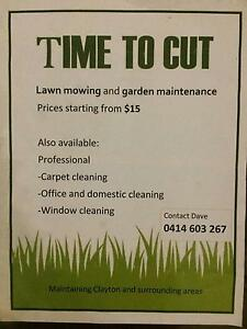 TIME TO CUT,,,,, LAWN MOWING Clayton South Kingston Area Preview