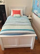 SINGLE BED FRAME AND SEALY MATTRESS Camberwell Boroondara Area Preview