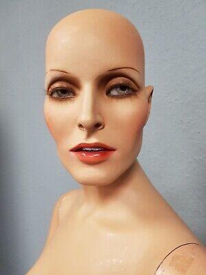 Rare Vintage 70s Plus Size Hindsgaul Maxime Collection Female Mannequin 1972 G22