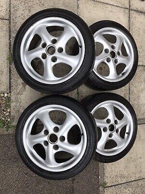 """Porsche Boxster 17"""" Alloy Wheels And Centres"""