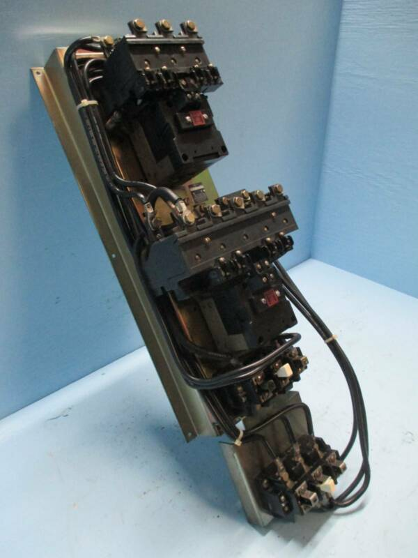 Allen Bradley AB 715VX-DOD12 Size 3 Two 2 Speed Starter 120V Coil 50 HP Sz3 D0D