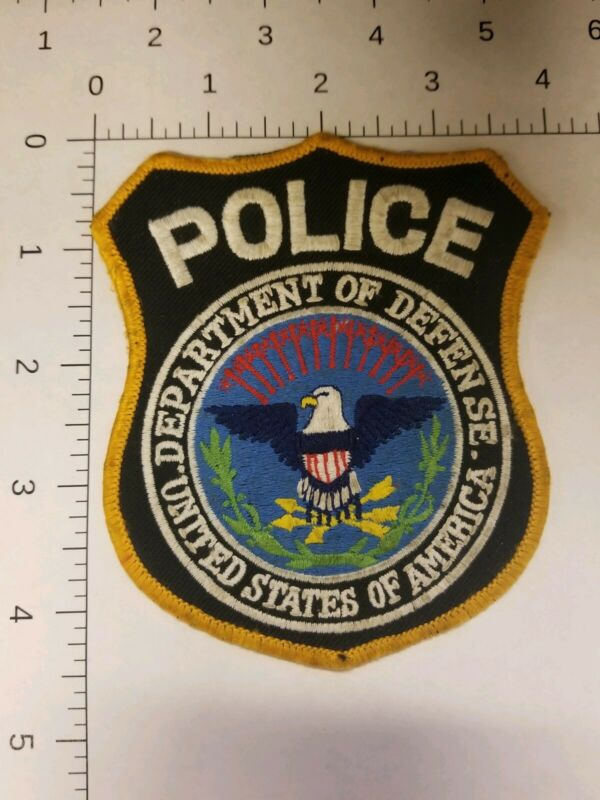 Department of Defense Police Patch