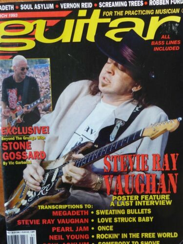 Guitar For the Practicing Musician Magazine - March, 1993