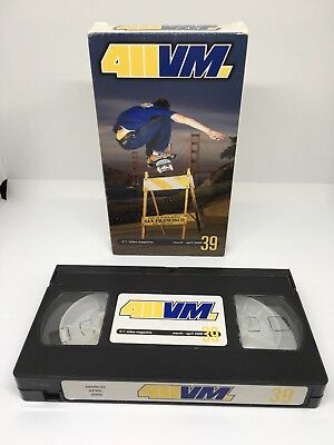 411VM 'Issue 39' March/April 2000 VHS NTSC Sarmiento Cannon Gall Lasek