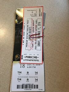 4 Club Seats Knights Tickets + Parking Pass - Sunday December 11