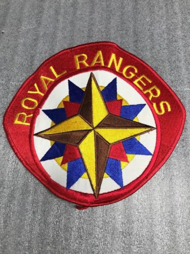 ROYAL RANGERS Jacket Patch 7 3/4 X 6 3/4 made for FCF founder Johnnie Barnes NEW