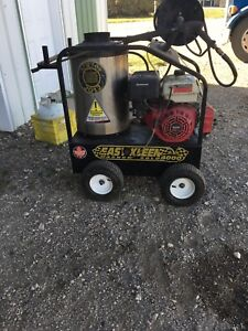 Easy clean  hot water pressure washer