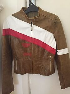 Woman's motorcycle scooter leather jacket Elanora Heights Pittwater Area Preview