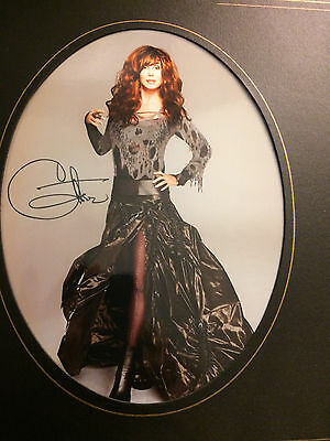 Cher Vertical Photo in Album Book From Colosseum At Ceasars Palace Las Vegas