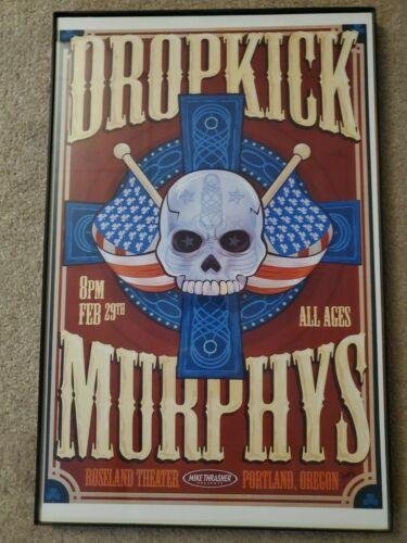 Dropkick Murphys tour poster 11x17