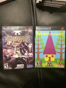 Two PS2 Games