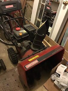 "Snowblower 24"" Craftsman"