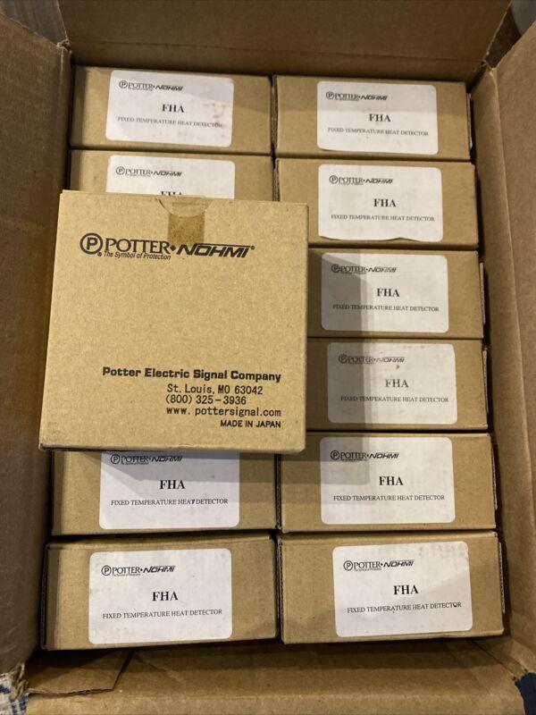 Potter FHA (1430803) Addressable Fixed Temperature Heat Detector