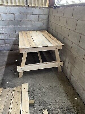 Wooden Table For Outside Pub Gardens