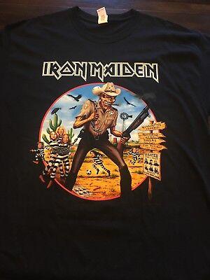 Iron Maiden Texas Dated Event Shirt XL