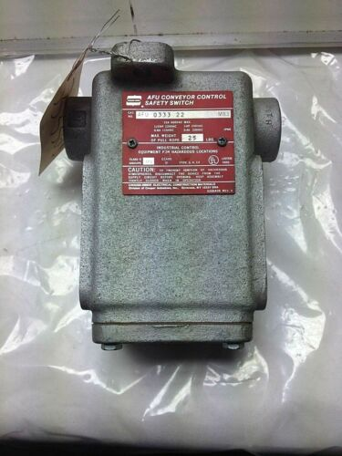 Crouse-Hinds Afu-0333-22 Safety Switch