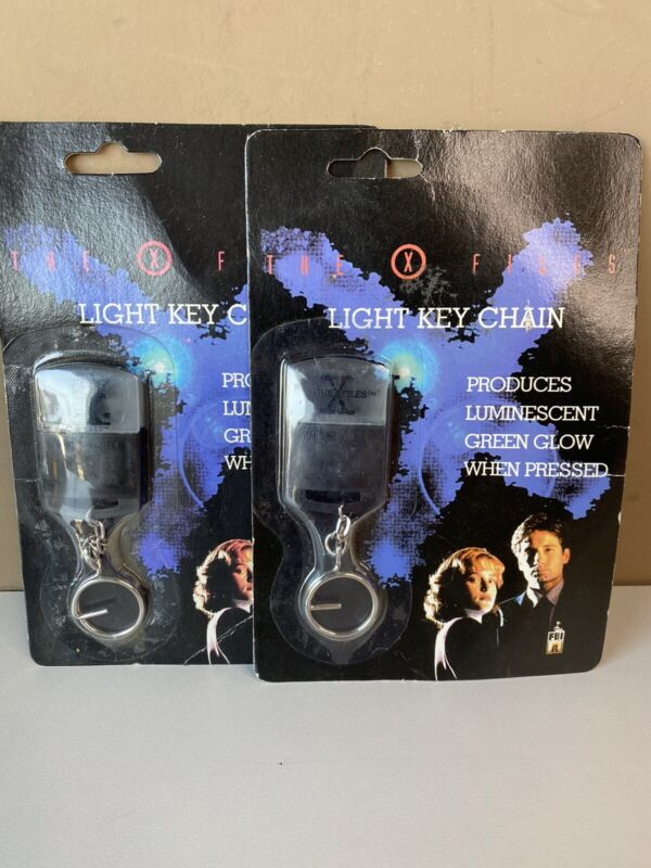 The X-files Key Chain Flashlight Set Of (2) Brand New