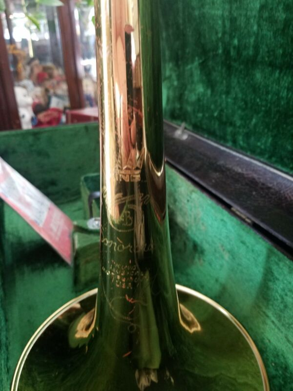 Vintage KING 4B SONOROUS TROMBONE serial # 491681 from early 1970