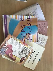 Pregnancy books Meadowbank Ryde Area Preview