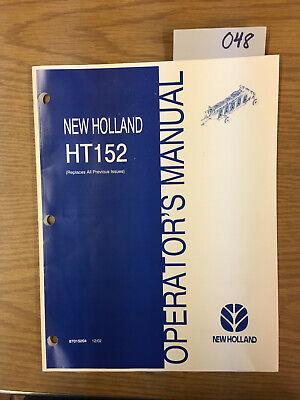 New Holland Parts Ht-152 Wheel Rake Catalog Manual 048