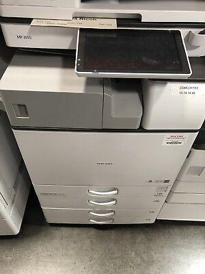 Ricoh Afficio Mp3055 Blk And White Copierprintercolor Scancleanlow Copies
