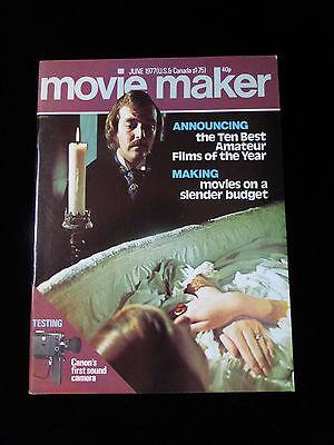 Movie Maker Magazine  June 1977  Like New
