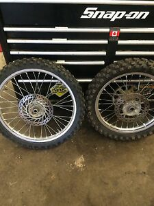 Cr250 crf250 crf450 tires and rims