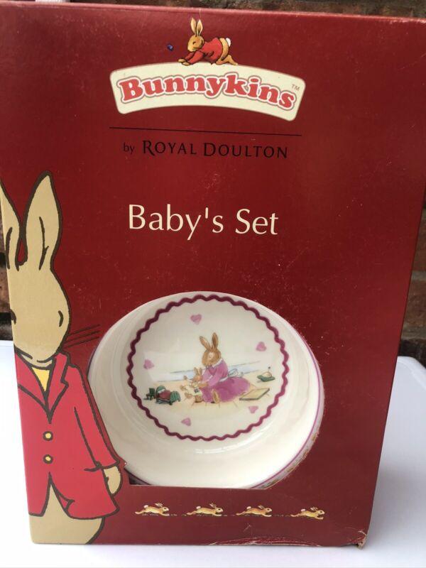 Royal+Doulton+Bunnykins+Baby%E2%80%99s+Set