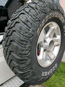 6 x 4wd wheels + tyres 265/70/16 Freshwater Manly Area Preview
