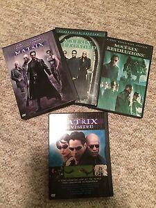 Matrix Trilogy DVD