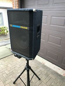 Yorkville PA speakers, stands and covers