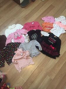 Baby Girl Tops- 12 months