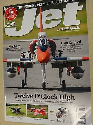 Radio Control Jet International Issue 142 Feb/March 2017 L-39, used for sale  Keego Harbor