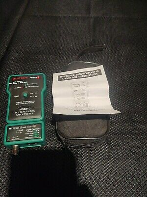 Mastech Multi Network Cable Tester Ms-6810
