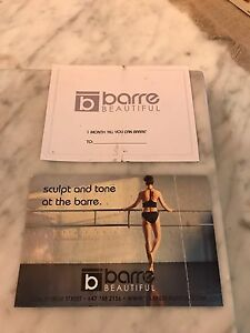 Barre Beautiful 1 month all you can Barre