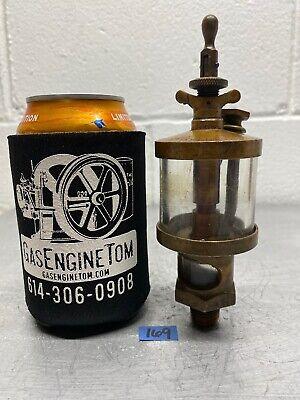 American Lubricator Co 2 Brass Cylinder Oiler Hit Miss Gas Engine Antique Steam