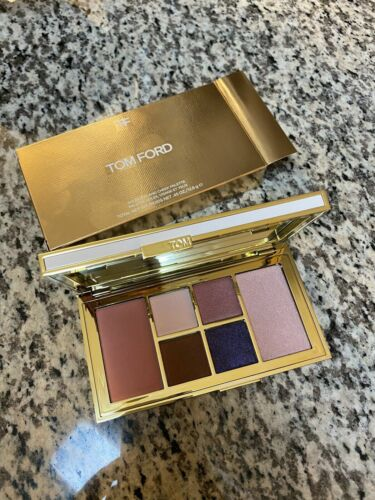 NEW IN BOX Tom Ford Soleil Eye And Cheek Palette #04 Violet Argente, Size 0.45