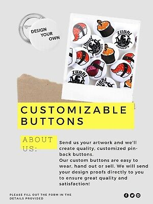Custom Pins Cheap (100 Cheap Custom Button Pin Badges (1