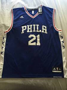 Joel Embiid - NBA replica jersey XXL Warabrook Newcastle Area Preview