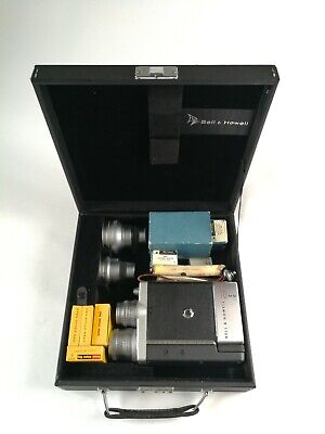 Vintage Bell & Howell 16mm camera with extras in Mint Condition