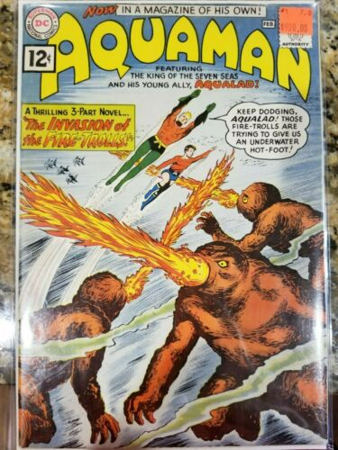 Aquaman #1 1962 DC comics-first issue key issue Silver Age comic NICE!