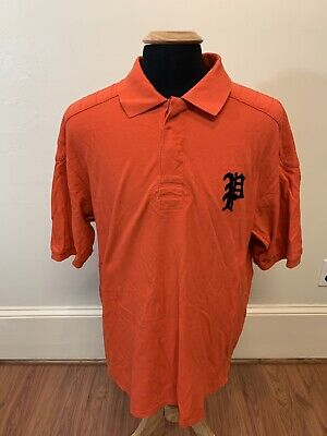 Polo Ralph Lauren Big and Tall Rugby Shirt SCRIPT Polo Horse Rider SIZE 2XLT Big And Tall Rugby