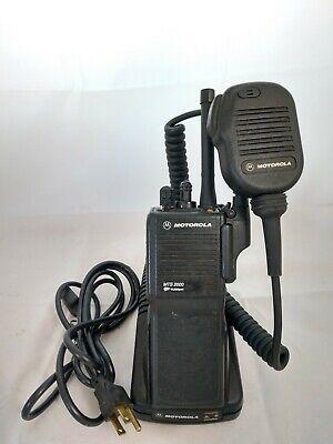 Motorola Mts2000 Uhf 450-512 Mhz Radio H01sdd9pw1bn Gmrs Tested